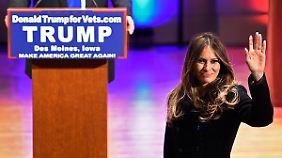 Vom slowenischen Model zur First Lady?: Melania Trump hofft, nächste Jackie Kennedy zu werden