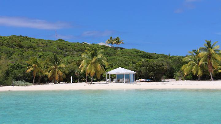 Zum Träumen verführt? Viele Pensionen und Hotels haben Zugang zu einem privaten Strand.