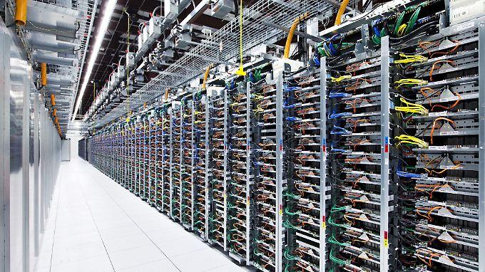 Begehrte Kapazitäten auf dem Server: Angeblich zahlt Apple 400 bis 600 Millionen Dollar Miete pro Jahr an Google.