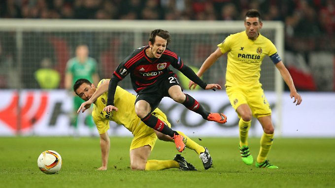Leverkusen konnte Villarreal wenig entgegen setzen.