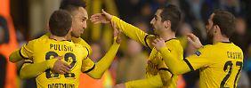 BVB im Europa-League-Viertelfinale: Borussia Dortmund wirft Tottenham raus
