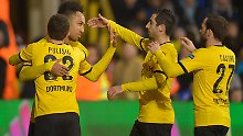 Dortmund steht im Viertelfinale: BVB stürmt die White Hart Lane
