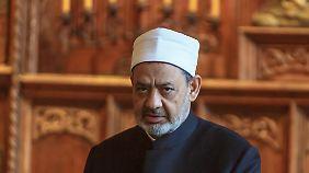 Ahmad Mohammad al-Tayyeb bei seinem Besuch in Münster.