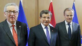 Schwierige Verhandlungen: EU ringt mit der Türkei um Flüchtlingsabkommen