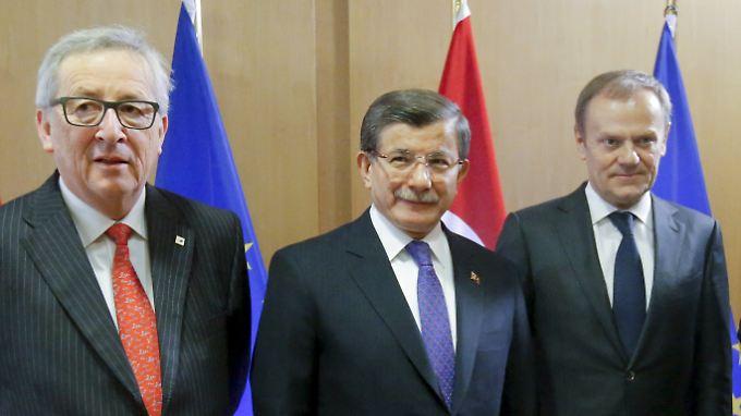Schwierige Verhandlungen: EU ringt mit Türkei um Flüchtlingsabkommen