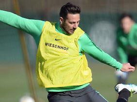 Trägt die Hoffnung: Claudio Pizarro.