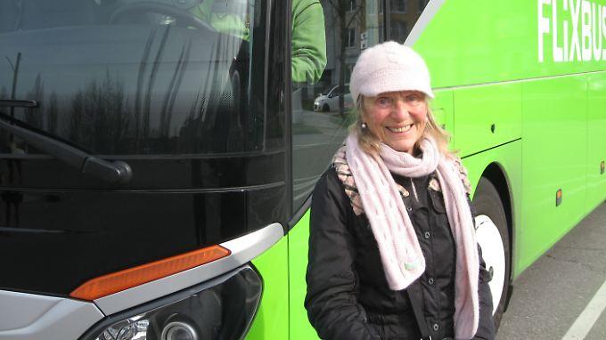Vom Bodensee aus in die Republik: Mit dem Fernbus erkundet Vera von Boetticher Deutschland.