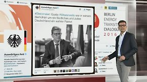 n-tv Netzreporter: Politiker trauern im Internet um Westerwelle