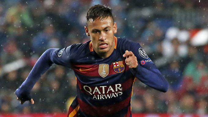 Blöd gelaufen für Neymar.