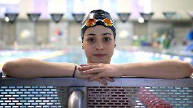 Jung, talentiert und motiviert: Yusra Mardini will nach Rio fahren.