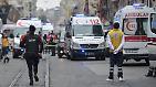 Bei dem zweiten Selbstmordanschlag innerhalb einer Woche in der Türkei sterben in der Metropole Istanbul fünf Menschen.