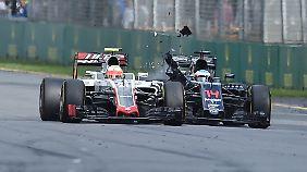 Hier kommt es zum Crash zwischen Alonso und Gutierrez.