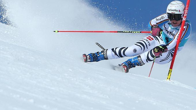 Rebensburg hatte den Weltcup bereits 2011 und 2012 für sich entscheiden.