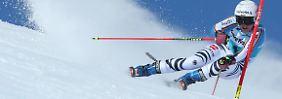 Herzschlagfinale im alpinen Weltcup: Rebensburg gewinnt - und verliert
