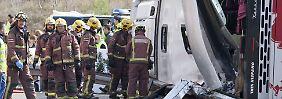 Opfer in Spanien identifiziert: Auch zwei Deutsche bei Busunglück getötet
