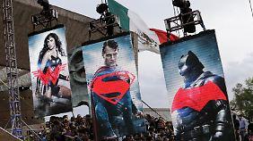 """""""Dawn Of Justice"""" feiert Weltpremiere: Batman und Superman liefern sich Leinwandduell"""