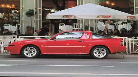 Mitsubishi beschleunigte sich mit dem Starion und nutzte dazu die PR-Dienste des Fußballstars Franz Beckenbauer.
