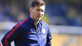 Lionel Messi verspielte mit dem FC Barcelona einen 2:0-Vorsprung gegen den FC Villarreal - und fabrizierte einen folgenschweren Fehlschuss.