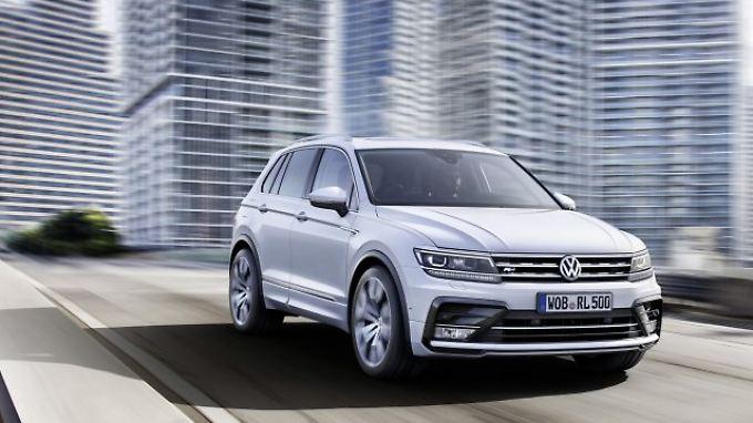 Im April fährt die zweite Generation des VW Tiguan zu den Händlern.