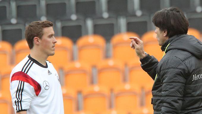 Klare Botschaft von Bundestrainer Joachim Löw an Max Kruse: Du bist erstmal raus.