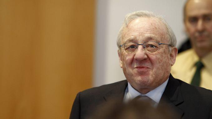 Karlheinz Schreiber hatte mit einem Koffer voller Schwarzgeld die CDU-Spendenaffäre ausgelöst.