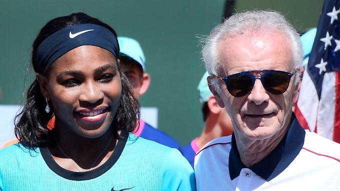 Serena Williams übte starke Kritik an Raymond Moore.