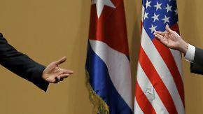"""Vorsichtige Annäherung: Obama verkündet bei Kuba-Besuch """"neue Ära"""""""
