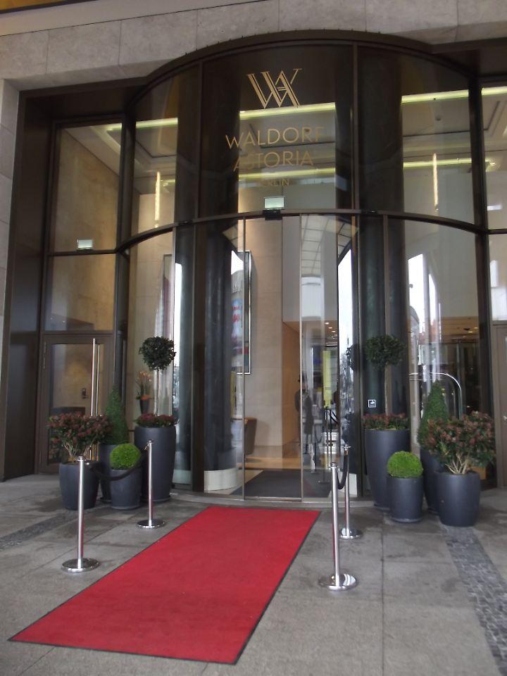 Das Waldorf Astoria Berlin wurde 2013 eröffnet.