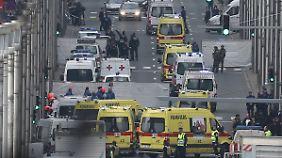 Terror in Brüssel: Anschlagserie erschüttert auch Metrostation