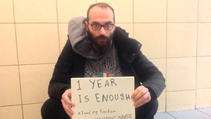 Fadi Mansur floh 2012 vor dem Krieg in Syrien in den Libanon.