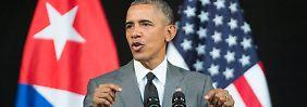 Rede an das kubanische Volk: Obama will US-Embargo aufheben