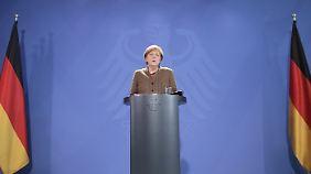 """Merkel zum Terror in Brüssel: """"Das Entsetzen ist grenzenlos"""""""