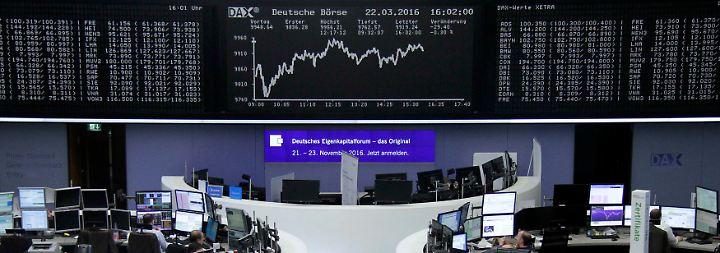Nur kurze Verunsicherung: Anschläge haben kaum Auswirkungen auf den Aktienhandel