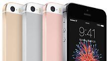 Viel Leistung auf 4 Zoll: iPhone SE ist Apples Akku-Prinz