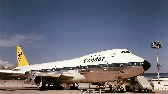 Mit dem Jumbojet brachte Condor ab 1971 noch mehr Passagiere an die Urlaubsziele.
