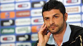 Vincenzo Iaquinta wurde 2006 mit Italien Fußball-Weltmeister.