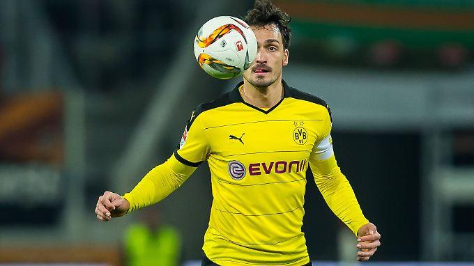 Begehrt: Mats Hummels, Abwehrchef von Borussia Dortmund.