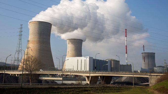 Das Atomkraftwerk Tihange war nach Anschlägen teilevakuiert worden.