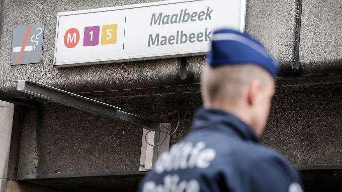 Die Metrostation in Maelbeek soll wochenlang geschlossen bleiben.