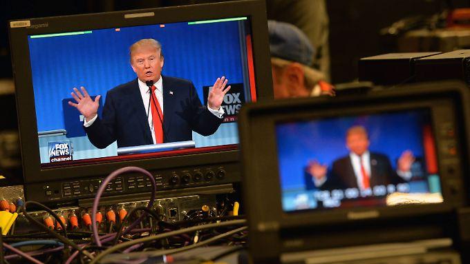 Donald Trump nutzt die Medien oft und gerne.
