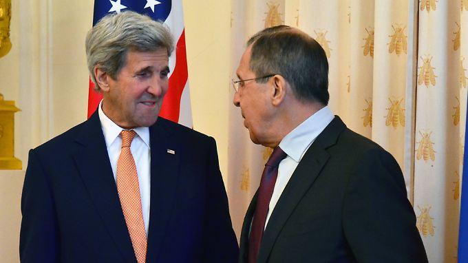 John Kerry und Sergej Lawrow arbeiten in der Syrien-Frage konstruktiv zusammen.