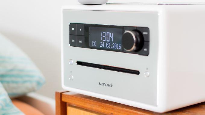 Kann mehr, als man sieht: Sonoro CD 2 hat Wellness-Programme an Bord.