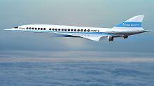 """Schneller als die Concorde: """"Boom"""" will die Überschallreise wiederbeleben"""