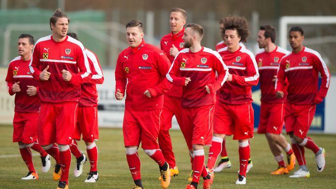 Die Bundesliga-Erfahrung von Alaba, Baumgartlinger, harnik&Co. ist für das Team immens wichtig.