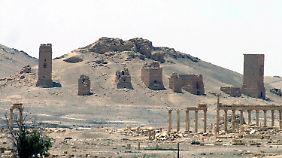 Die antiken Stätten sollen wieder aufgebaut werden.