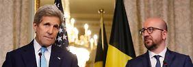 Kerry verspricht Brüssel Hilfe: USA und BKA warnen vor weiteren Attacken in Europa