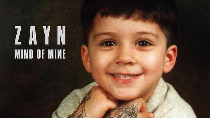 Verschmitzt lächelt Malik als Kind von dem Cover seines ersten Solo-albums.