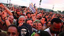 Mega-Konzert in der Karibik: Rolling Stones begeistern Kuba