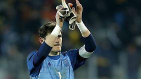 Neuer europäischer Rekordmann: Iker Casillas.