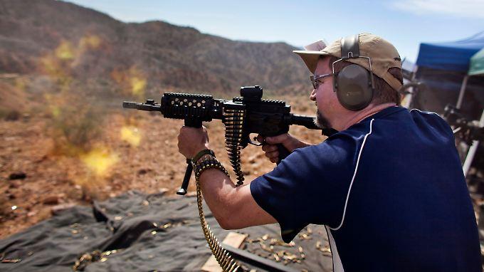 Müssen ihren Kandidaten ohne Sturmgewehr wählen: Republikaner